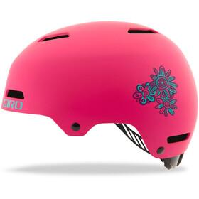 Giro Dime FS Helmet Kinder matte bright pink blossom